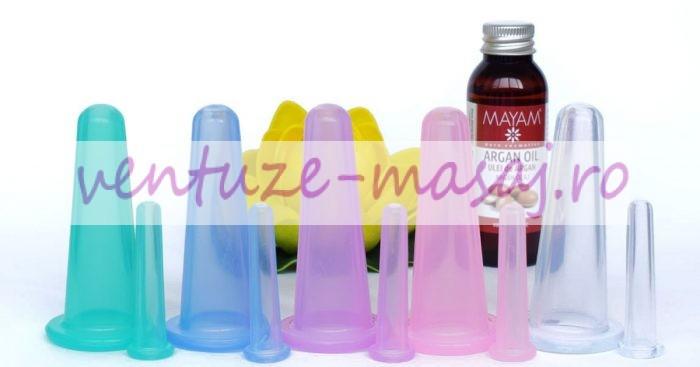 Ventuze masaj din silicon