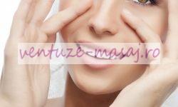 masaj facial cu ventuze